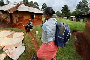 Health worker Kenya
